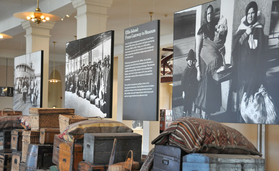 Baggage Room Exhibit