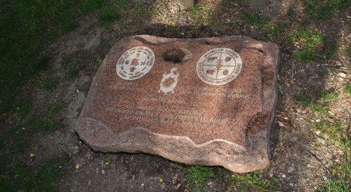 Grave marker on Ellis Island