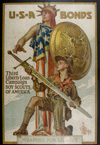 World War I bond poster c. 1919