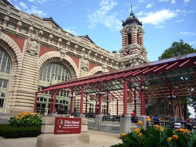 Ellis Island Registration Museum Exterior
