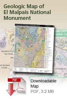 Download the Geologic Map of El Malpais