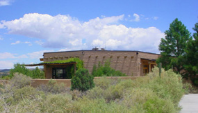 The BLM's ranger station on Highway 117