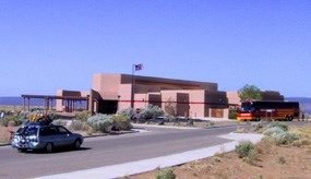 The Northwest New Mexico Visitor Center in Grants.