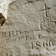 Orton inscription from 1866