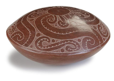 Natchitoches tribe, Redcorn pottery