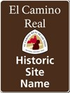 ELTE Historic Site Name sign