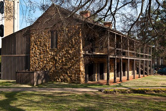 Old Stone Fort El Camino Real De Los Tejas National