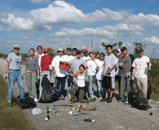 Everglades Clean-up at Chekika Jan