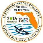 Centennial Paddle Challenge Patch