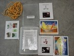 Materials used in carbon budget activity kit.