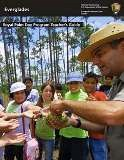 Front cover of Royal Palm teachers guide showing ranger and students.