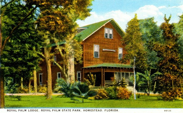 Royal Palm Lodge postcard