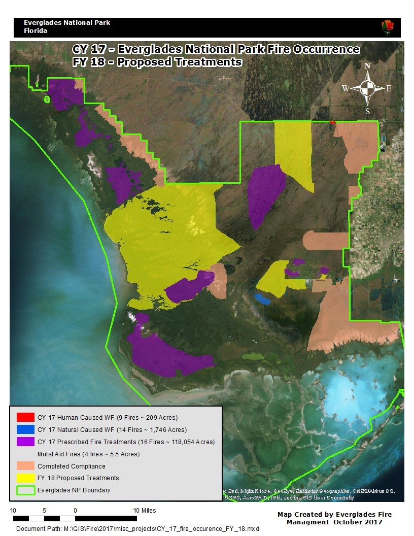 Florida Fire Map 2017.Fire Aviation 2017 End Of Year Review Everglades National Park
