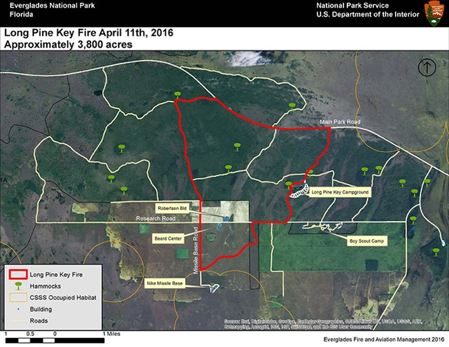 Current Fire Activity Everglades National Park U S National Park