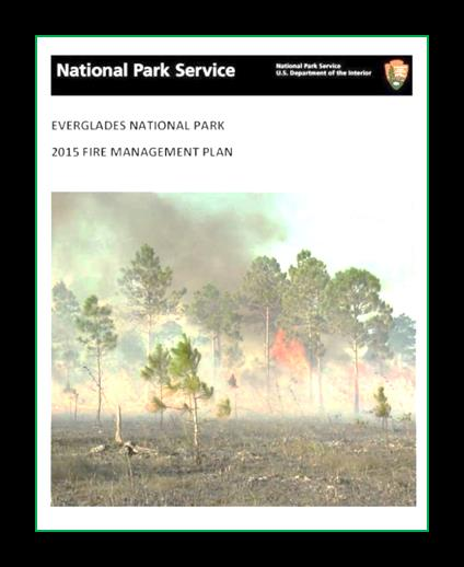 Fire Management Plan cover