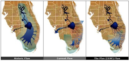 Water Flow Restoration Maps