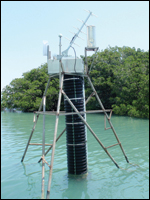 Duck Creek monitoring station in Florida Bay
