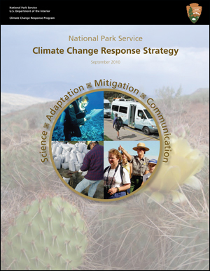 Photo showing the climate change response strategy cover