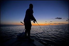 Fisherman in Everglades National Park