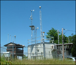 Air-quality monitoring station