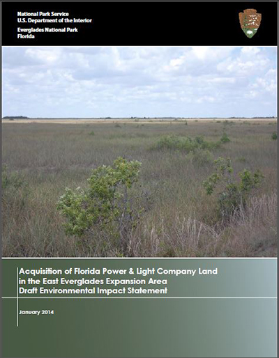 Everglades National Park Seeks Public Comment on Draft Environmental Impact Statement for Acquisition of Florida Power and Light Company Land in East