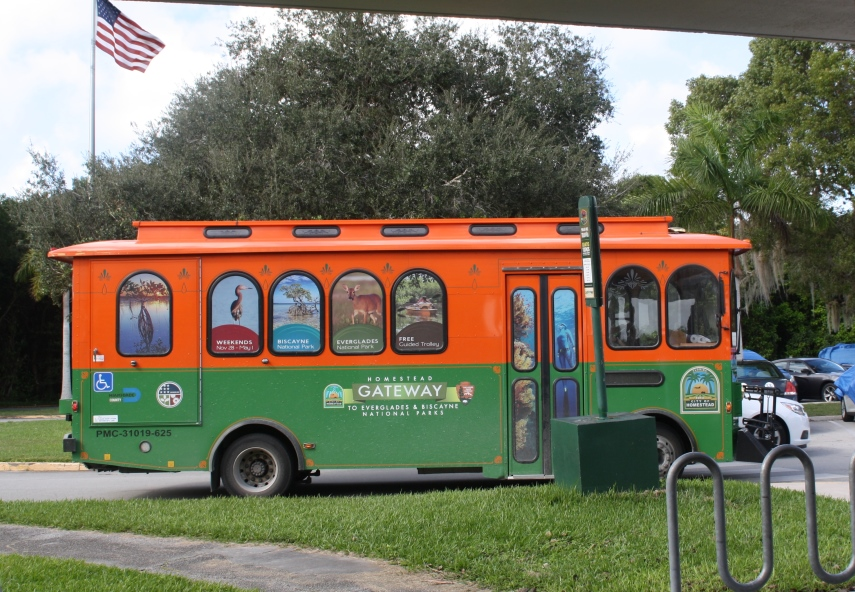 Homestead National Parks Free Trolley