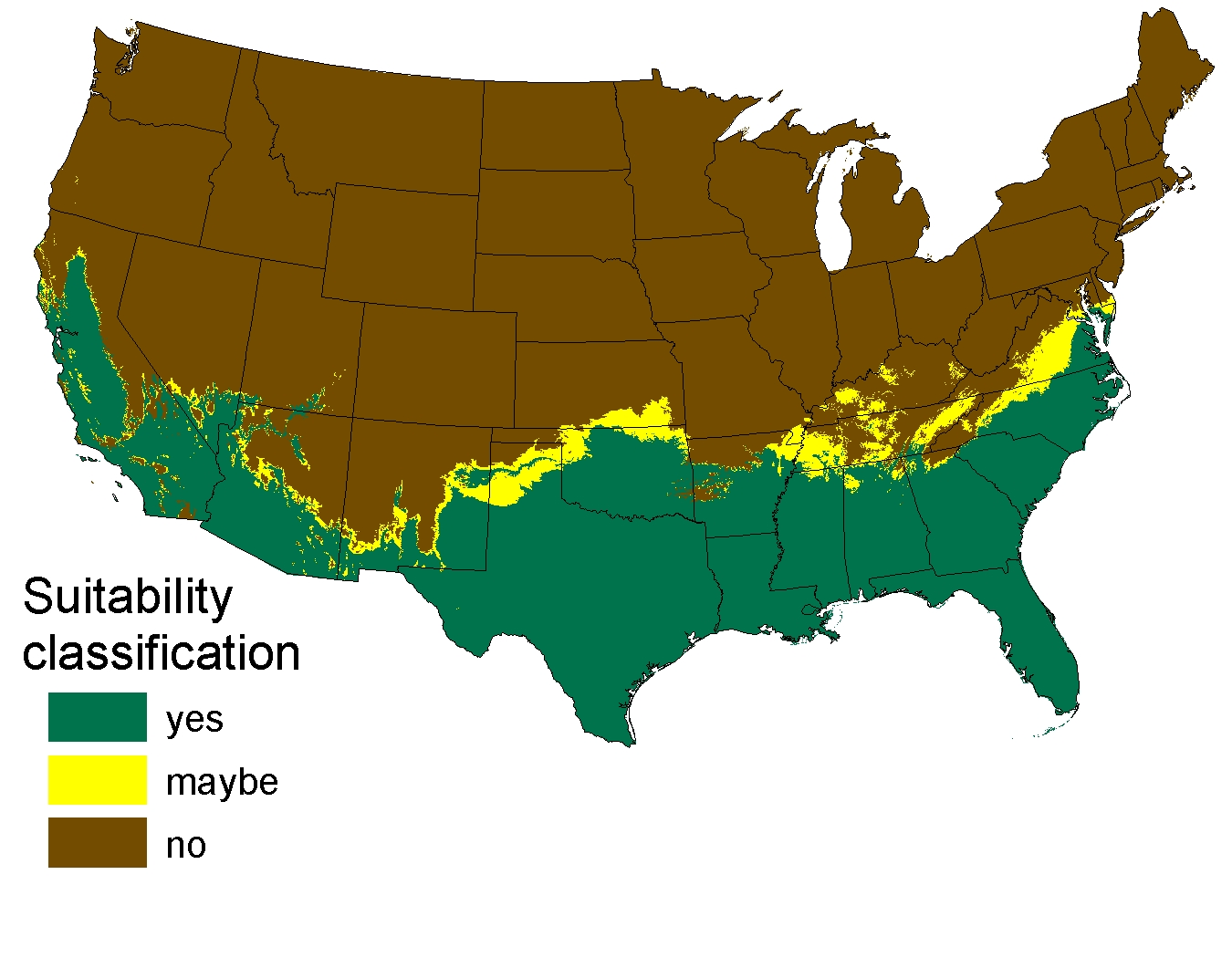 One Areas Of The Continental United States With Climate Matching That Of The Pythons Native Range In Asia Usgs Image