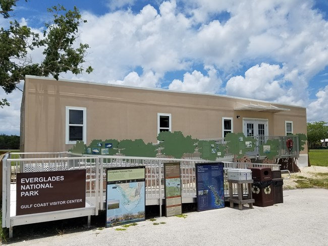 Temporary Gulf Coast Visitor Center