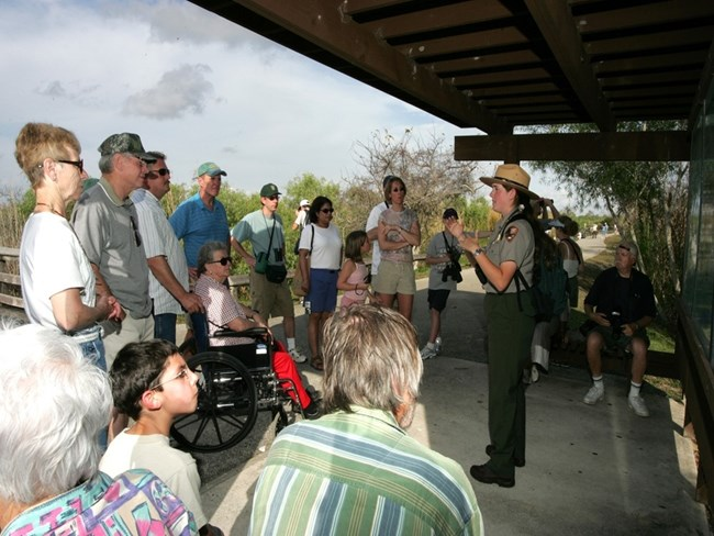 Ranger-Led Accessible Hike