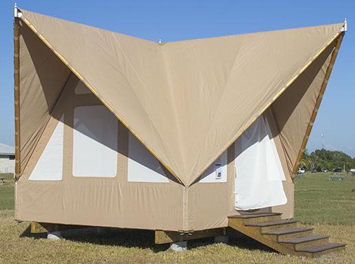Eco tent more information everglades national park u for Tent platform plans