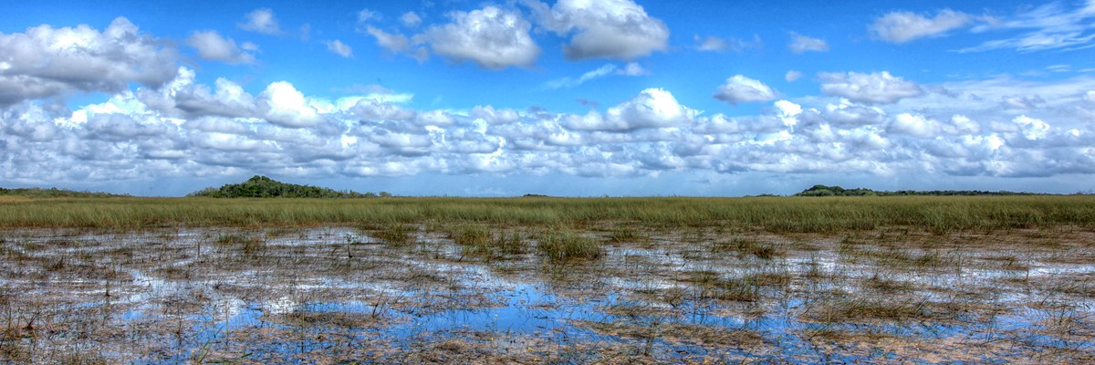 Wet Season over the Sawgrass Prairie