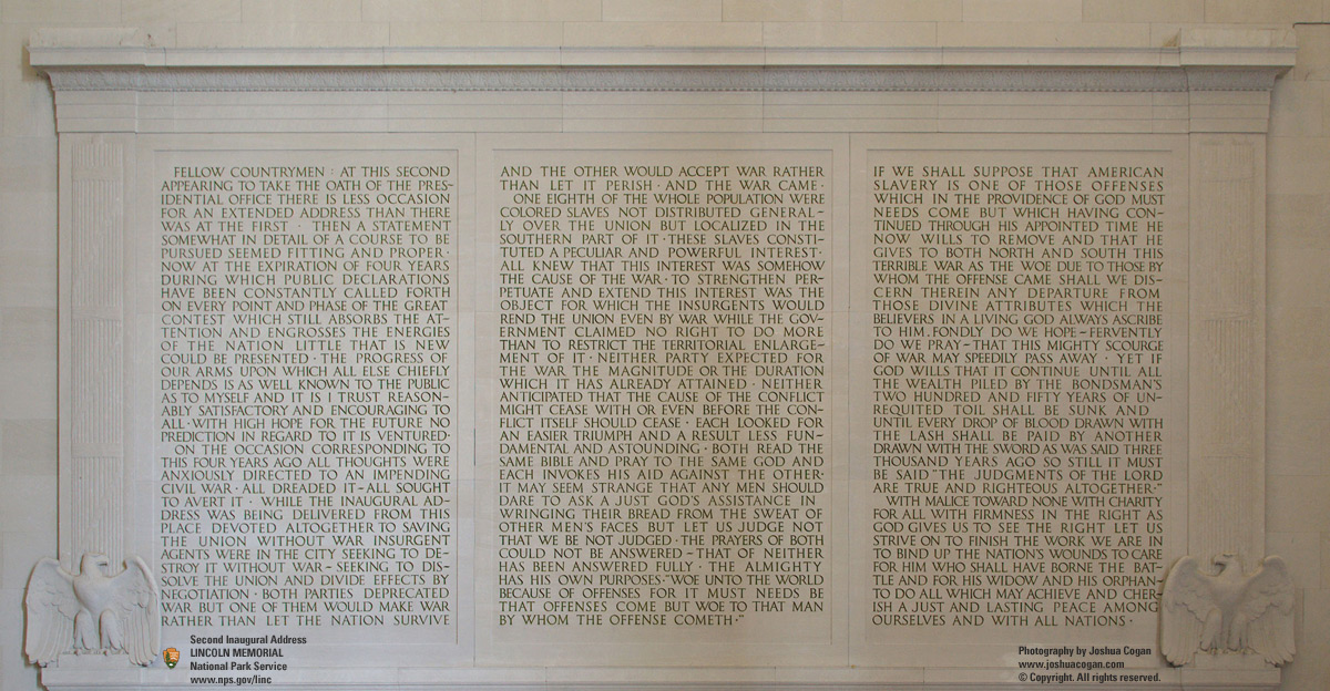 lincolns 2nd inaugural address essay Lincoln s 2nd inaugural address essayabraham lincoln's second inaugural address as i read the lines carefully of lincoln's second inaugural address.