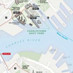 Boston Map Historical Sites.Maps Boston National Historical Park U S National Park Service