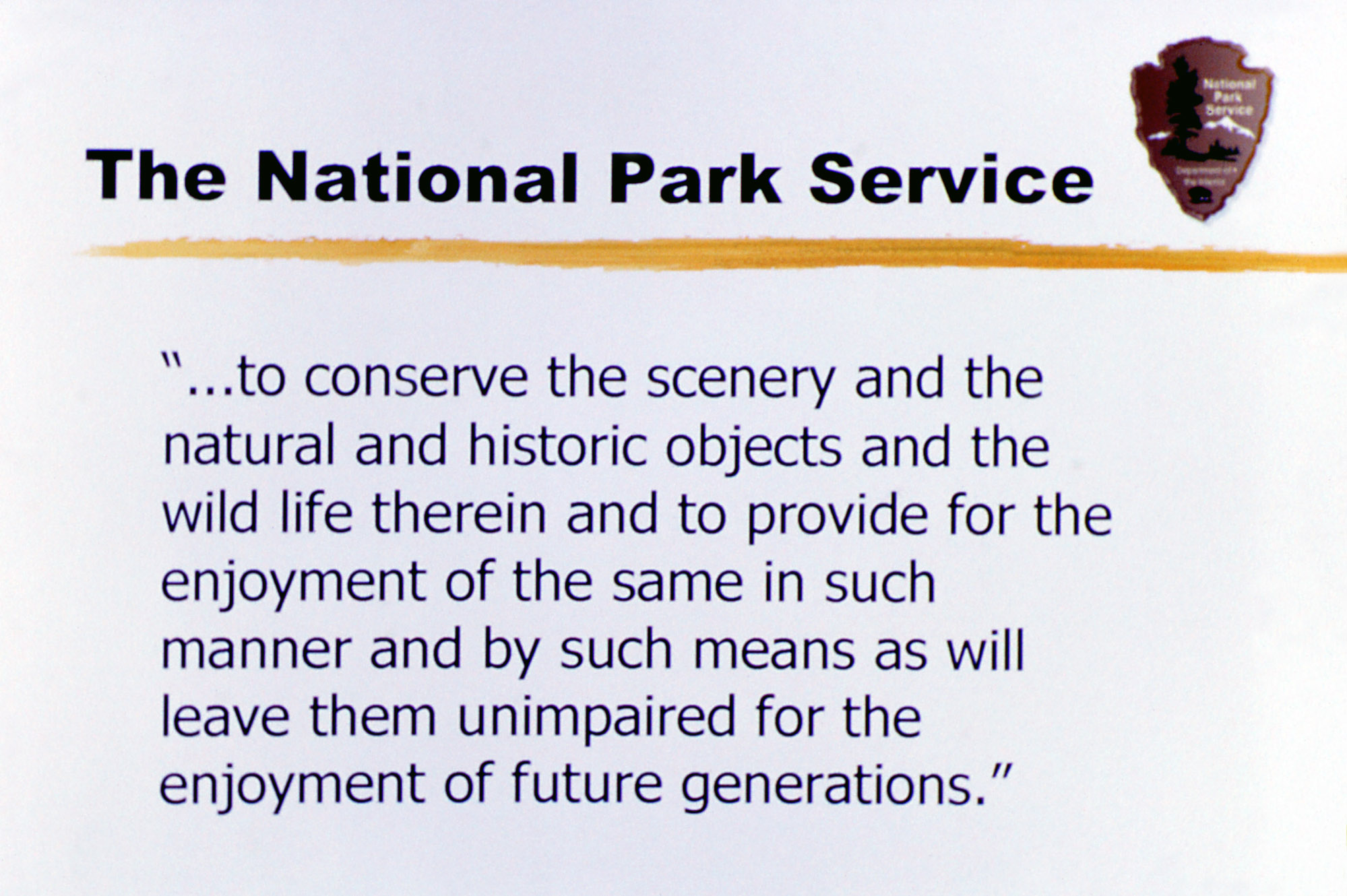the important role of the national park service The ocean plays an important role in shaping  national ocean service national oceanic and  home ocean facts what role does the ocean play in the weather.