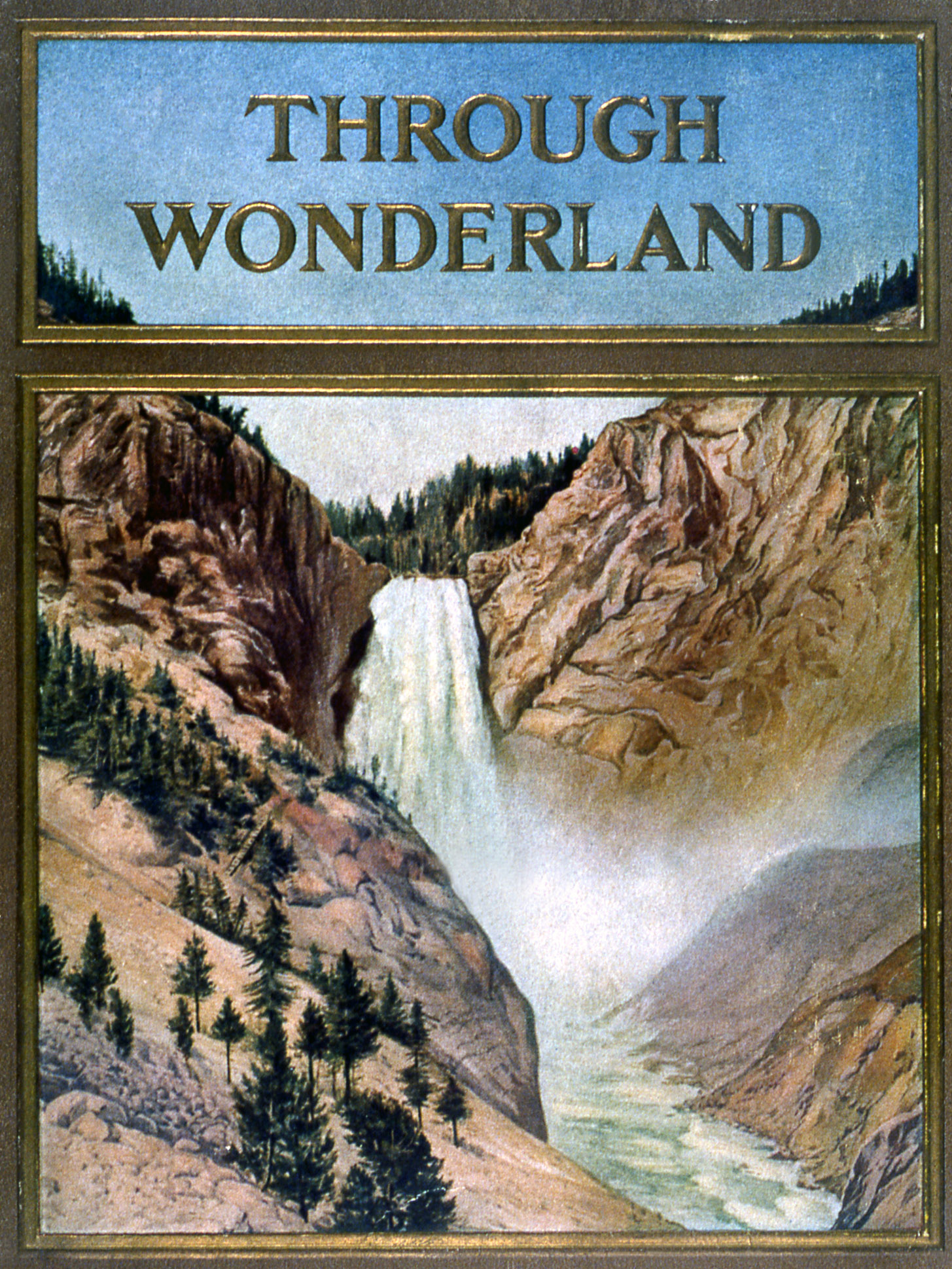 Image result for northern pacific yellowstone wonderland
