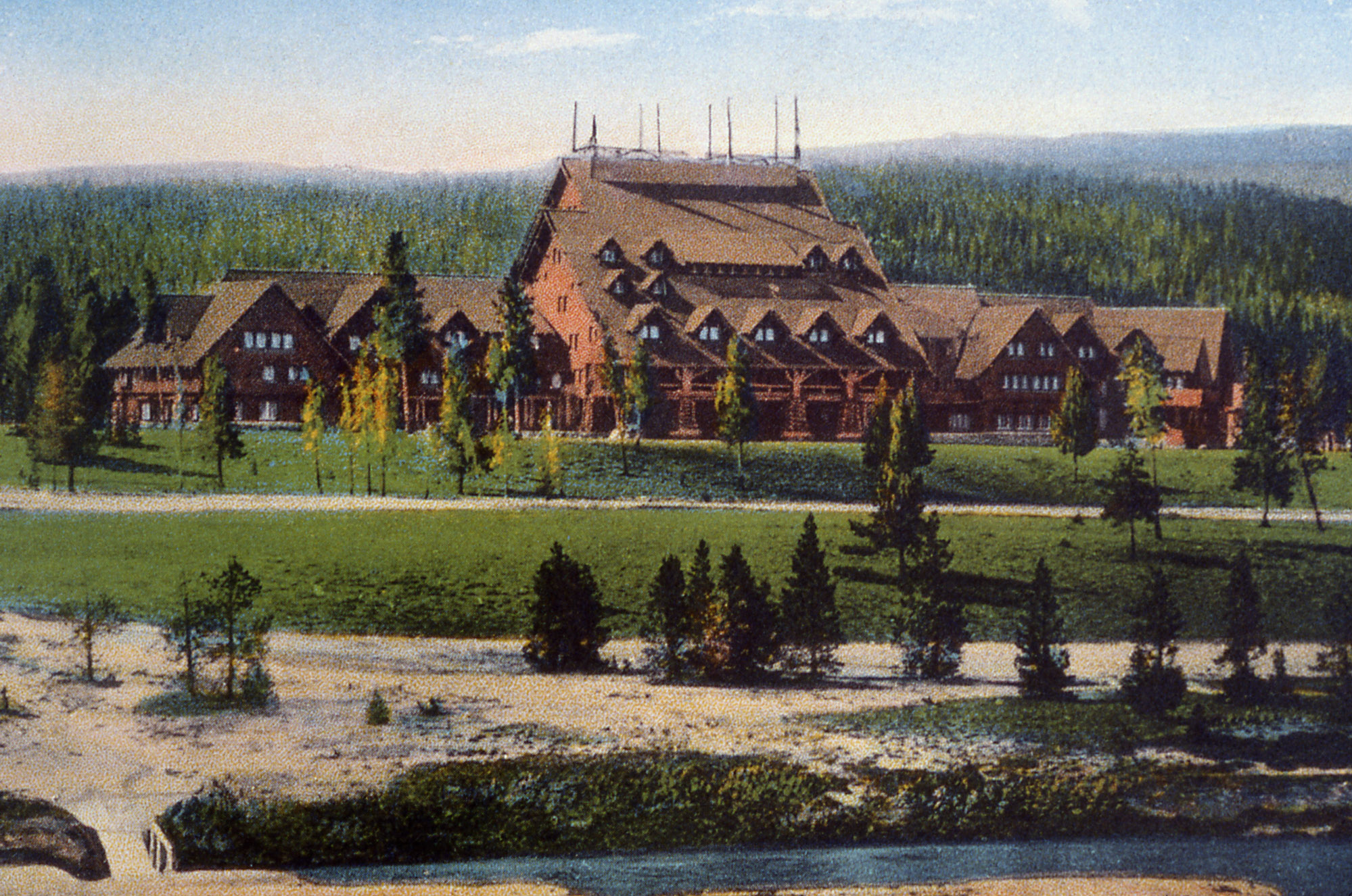 1000 Images About Old Faithful Inn Yellowstone On