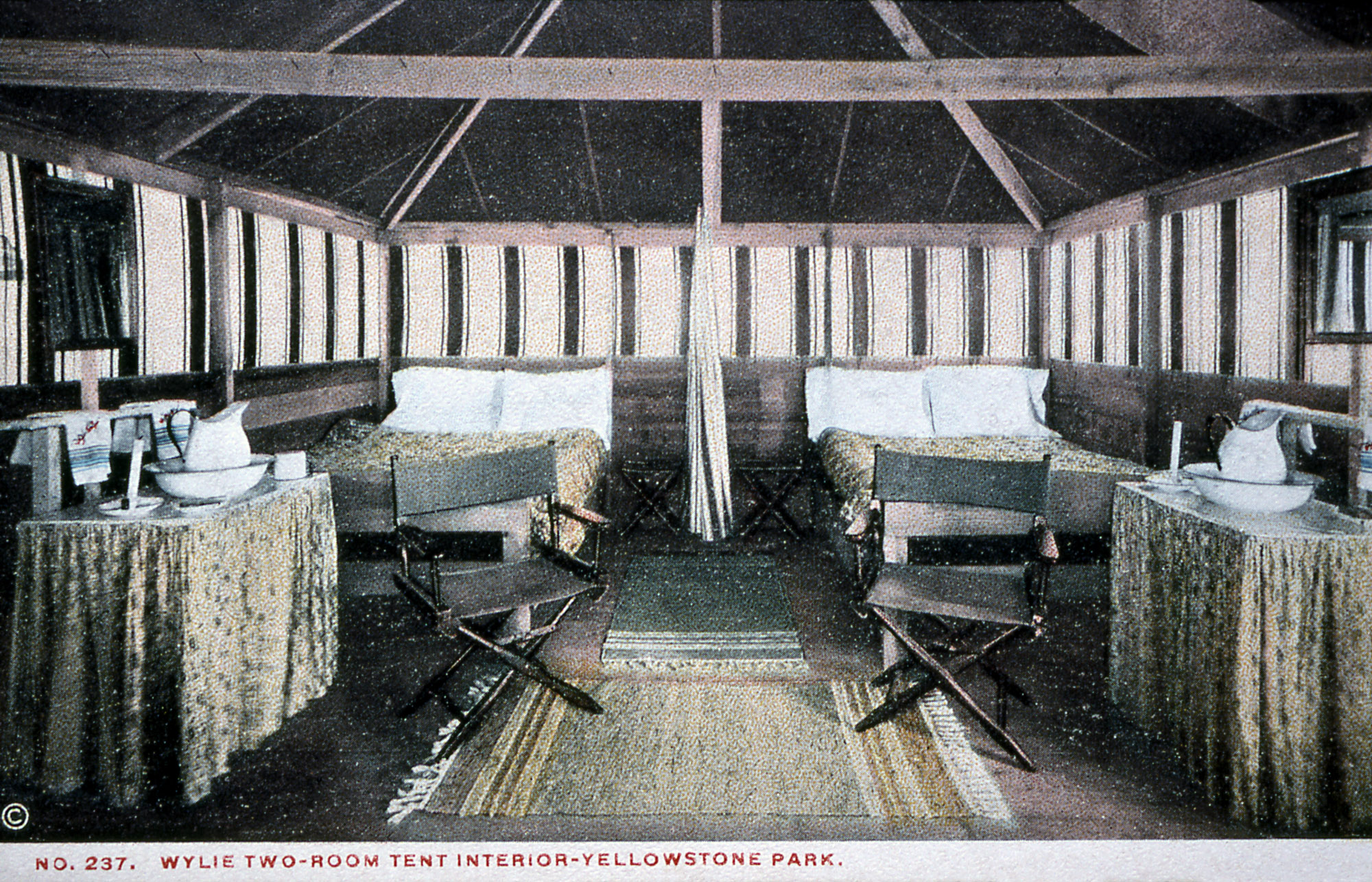 Permanent Tent Cabins Yellowstone S Photo Collection