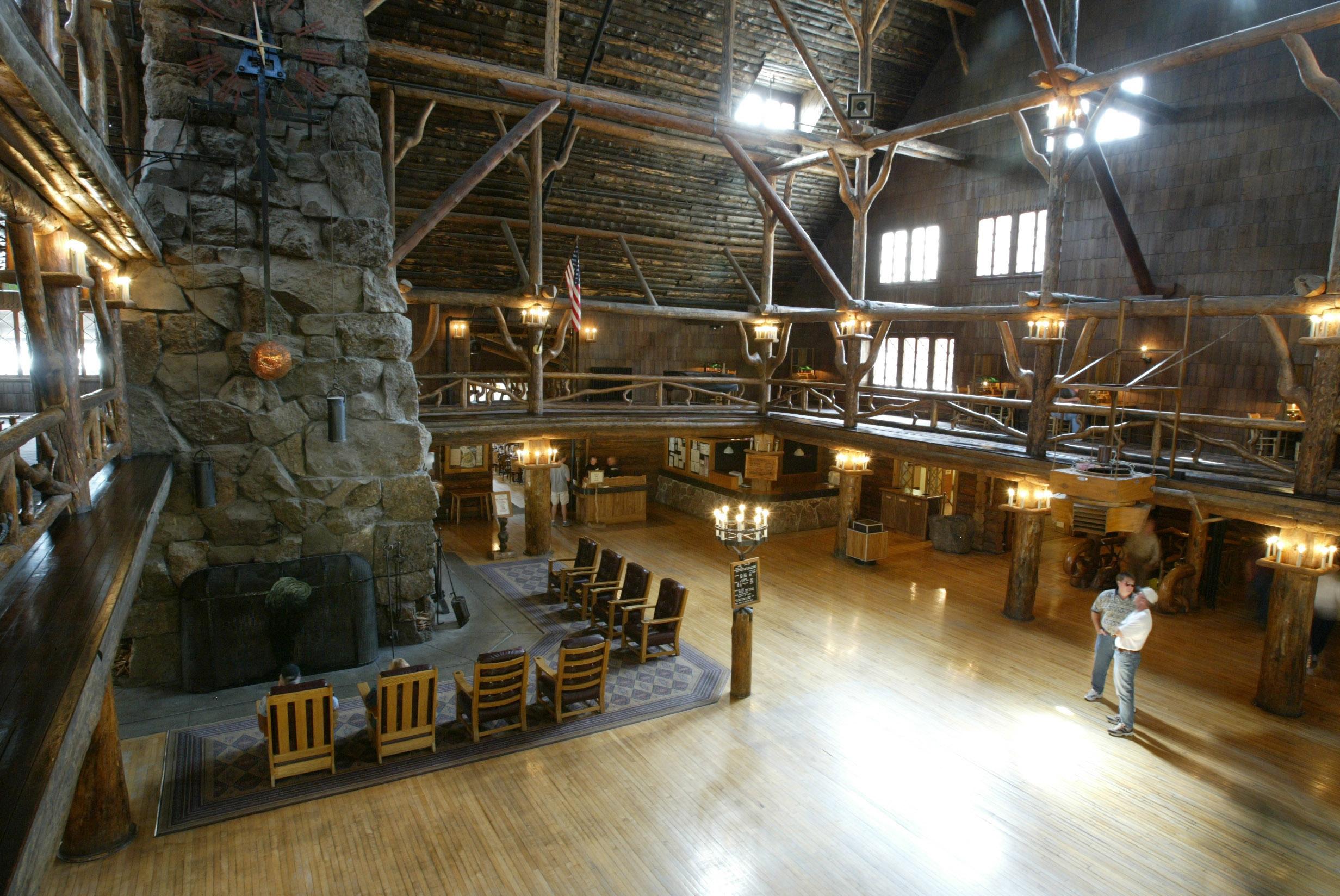 Old Faithful Inn Dining Room Yellowstone S Photo Collection