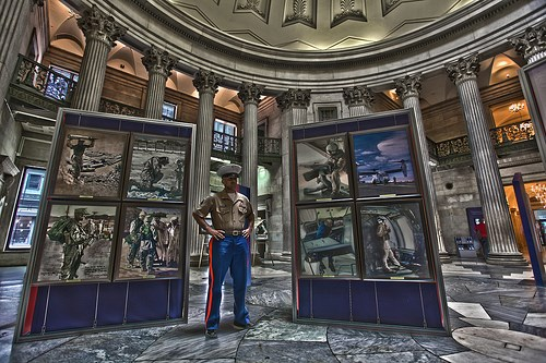 National Museum of the Marine Corps exhibit at Federal Hall 2011