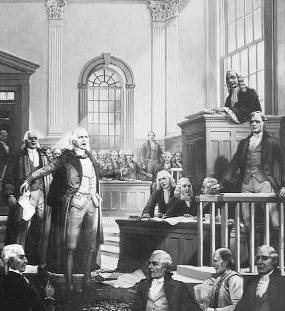 The Trial of John Peter Zenger