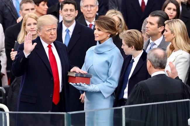 Washington to Trump: Inaugural Traditions - Federal Hall