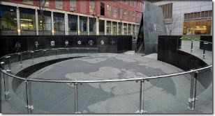 Memorial at the African Burial Ground