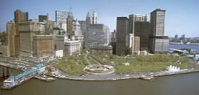 Castle Clinton and Lower Manhattan