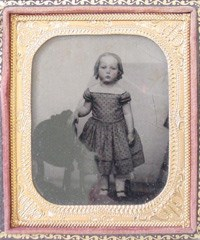 Antique photograph of child.