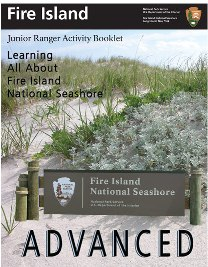 Cover of advanced Junior Ranger Activity Booklet