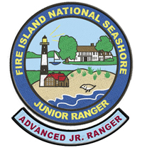 Junior Ranger patch and bar