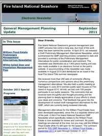 GMP E-Newsletter for September 2011