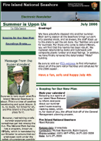 GMP E-newsletter from July 2006.
