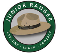 Junior Ranger sticker.