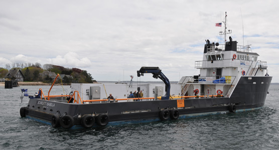USGS research vessel
